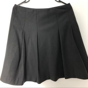 The Limited Black Pleated Skirt Sz M